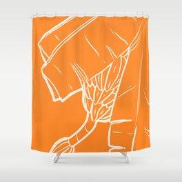 Orange Banana  Shower Curtain