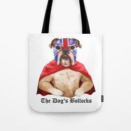 luchadog's bollocks Tote Bag