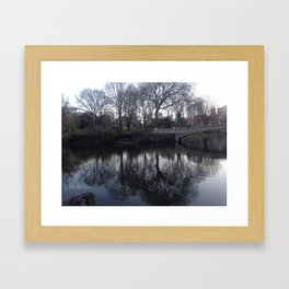 Bow Bridge Framed Art Print