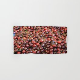 Cherries Hand & Bath Towel