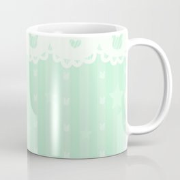 Kawaii Green Coffee Mug
