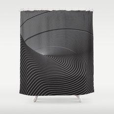 Turbulens Shower Curtain