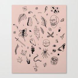 STICK AND POKE II Canvas Print