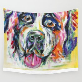 CAYLEE the ST. BERNARD Wall Tapestry
