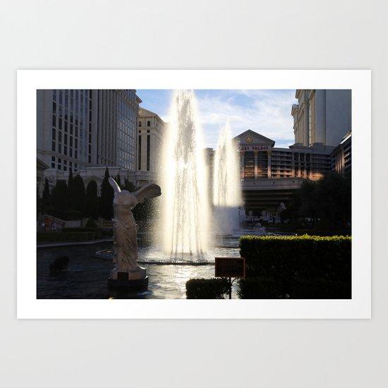 Vegas 7 Art Print