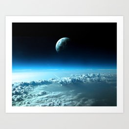 Outter Earth Art Print