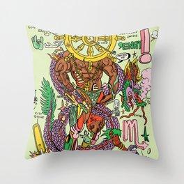 Magic 8 Throw Pillow