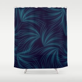 feathers in the wind Shower Curtain