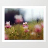 clover Art Prints featuring Clover by elle moss