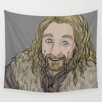prince Wall Tapestries featuring Golden Prince by Mhyin