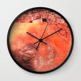 Childhood of humankind: Wisdom eye look right Wall Clock