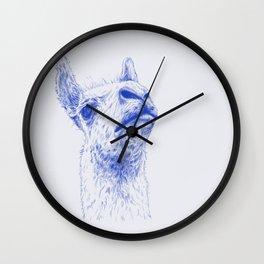 A lama that likes some drama Wall Clock