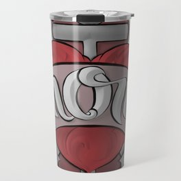 Mom's Tattoo Travel Mug
