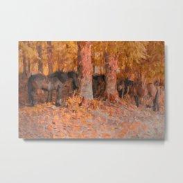 Autumnal Metal Print