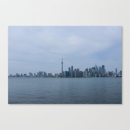 View From Toronto Island Canvas Print