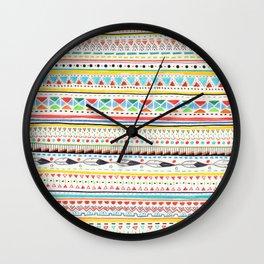 Pattern No.2 Wall Clock