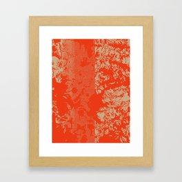 Vermillion Azaleas Framed Art Print