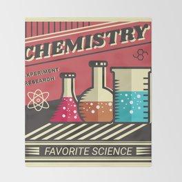 Chemistry Throw Blanket