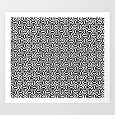 Inverse or Circles and Circles Art Print