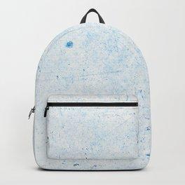 Blue Splatter Paint (Color) Backpack
