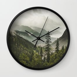 Valley of Forever Wall Clock
