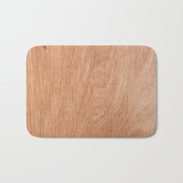 Abstract pastel brown rustic wood texture Bath Mat