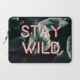 Stay Wild ( Contrast neon- plants ) Laptop Sleeve