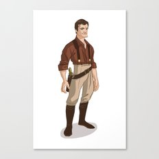 Captain Mal Canvas Print
