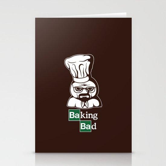 Baking Bad Stationery Cards