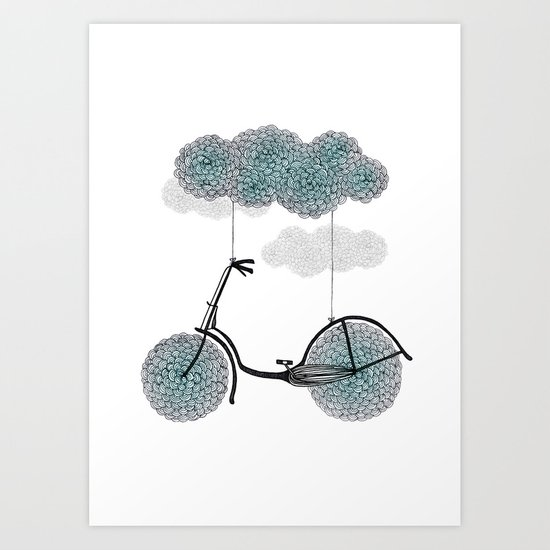 Ride Or Fly Art Print