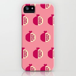 Fruit: Pomegranate iPhone Case