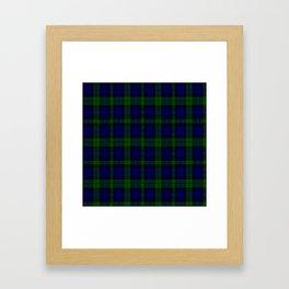 "CAMPBELL CLAN  ""BLACK WATCH"" SCOTTISH  TARTAN DESIGN Framed Art Print"