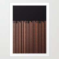 cunt Art Prints featuring CUNT by Beatricepl