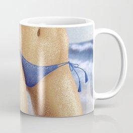 Afro girl bikini Coffee Mug