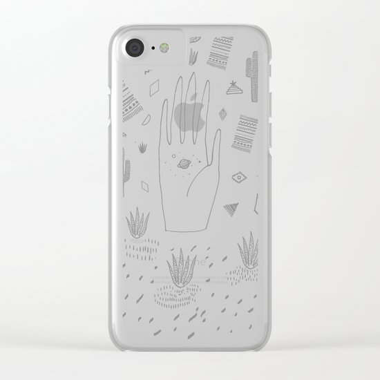 SPACE DREAMS Clear iPhone Case