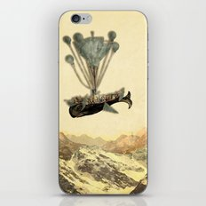 whale flight I iPhone & iPod Skin