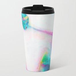 abstract ink waves i Travel Mug