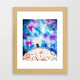 To the Moon and Beyond Framed Art Print