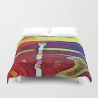 hook Duvet Covers featuring Hook Echo by David Lee