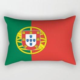 Flag of Portugal Rectangular Pillow