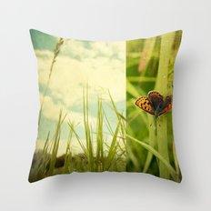 Unveil Throw Pillow