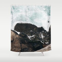 The Ocean Calls (Spring) Shower Curtain
