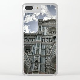 Cathedral of Santa Maria del Fiore #1 Clear iPhone Case