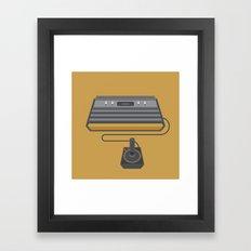 Retro Gaming - Atari Framed Art Print