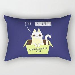 schrodinger's CAT Rectangular Pillow