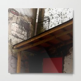Red Door District Metal Print