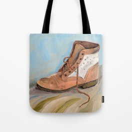 Shoe made for walking Tote Bag