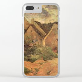 Paul Gauguin - Osny, Stormy Weather (1883) Clear iPhone Case
