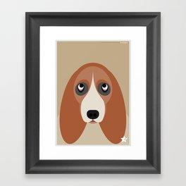 Basset Framed Art Print