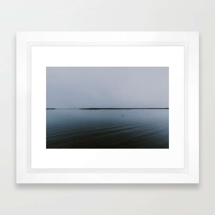 In The Deep Framed Art Print